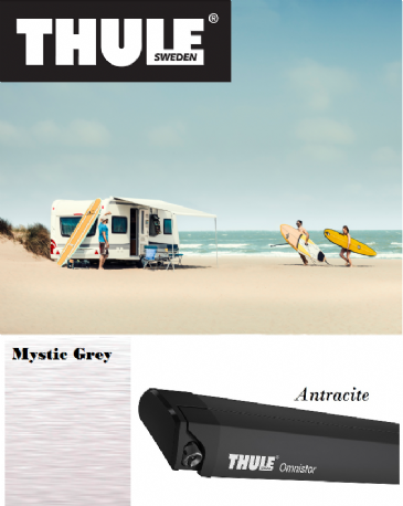 Thule Omnistor 6200 Awning for vans, caravans and motorhomes- Antracite